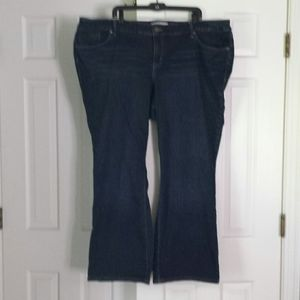 Torrid relaxed boot cut jeans plus size 26r